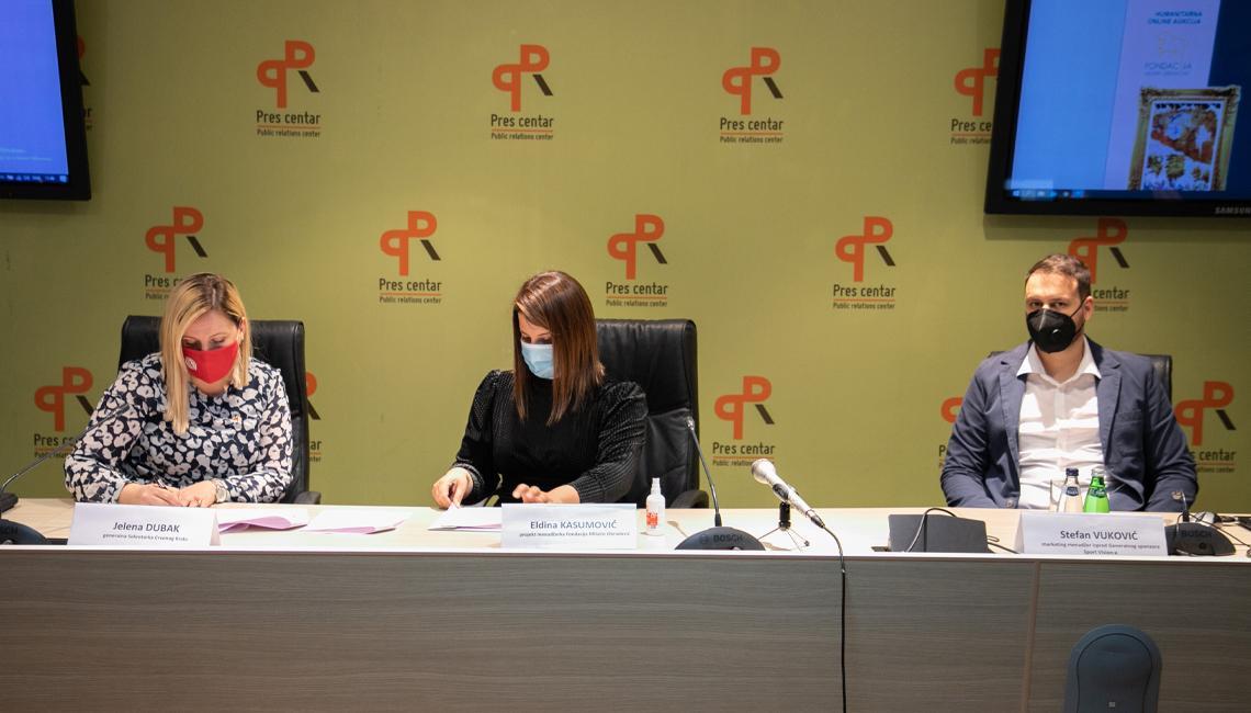 Održana je prva press konferencija Fondacije Milutin Obradović