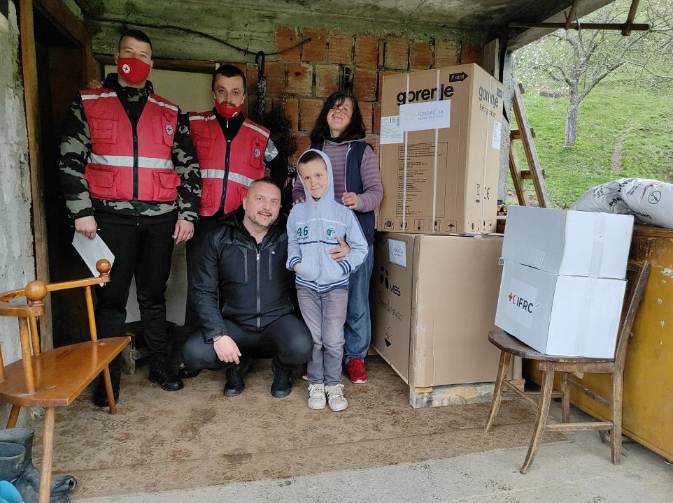 Fondacija pomogla porodicu Jovanović iz Međuriječja